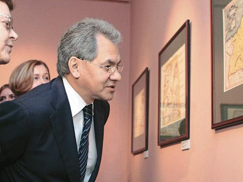 Сергею Шойгу показали древние карты