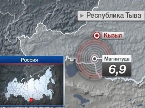 Восточную Сибирь тряхануло под 7 баллов
