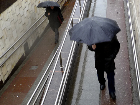 До четверга в столице выпадет половина майской нормы осадков