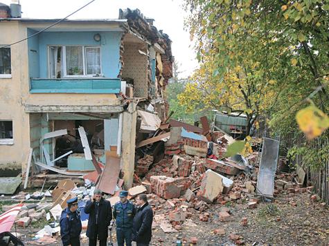 В результате ЧП было повреждено 8 квартир