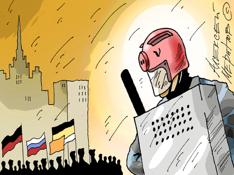 Штрафы для организаторов уличных акций поднимут до миллиона рублей