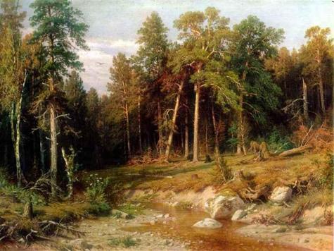 На картине Шишкина можно будет срубить лес