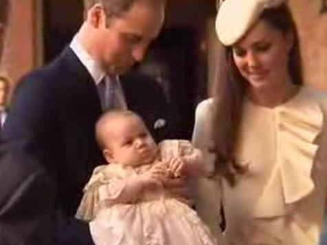 В честь крестин принца Джорджа королевскую семью накормили пирогом годичной давности