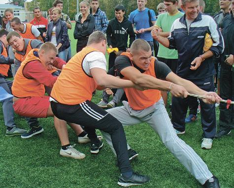 В Серпухове прошел день здоровья