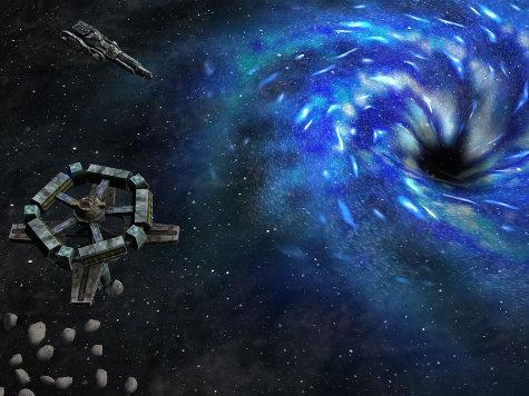 Разогревая Вселенную, черные дыры замедляют рождение звезд