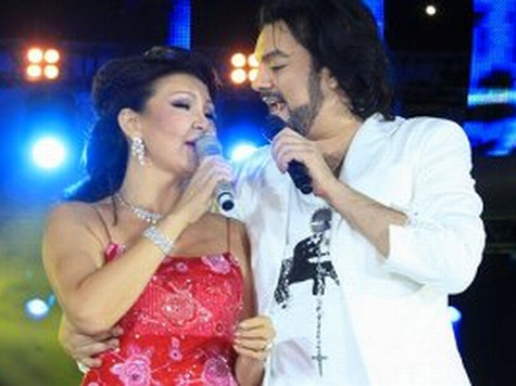 Филипп Киркоров записал дуэт с Даригой Назарбаевой