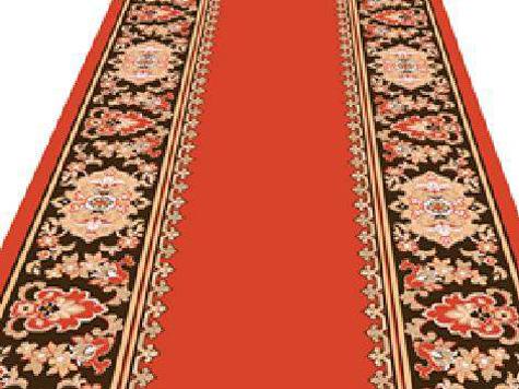 Легендарные «кремлевки» — красные ковровые дорожки — немного поменяют свой дизайн