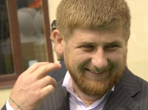 Дикторская рубка с Кадыровым