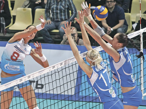 Впервые за 15 лет женский волейбольный клуб из России выигрывает еврокубок
