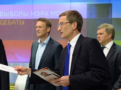 Вместо транспорта на дебатах кандидаты в мэры Москвы обсудили штаны Левичева