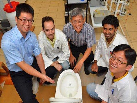 Сингапурские инженеры придумали необыкновенную туалетную систему