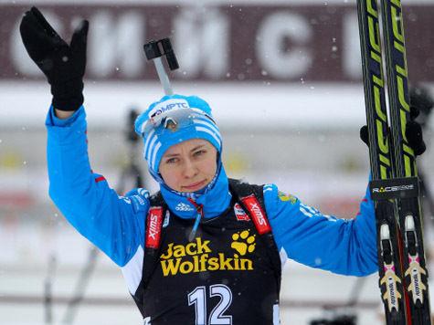 Кубок мира по биатлону: Сукалова не ожидала хет-трика, Вилухина – такого старта