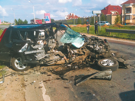 Радзинский не оставил выбора жертве аварии