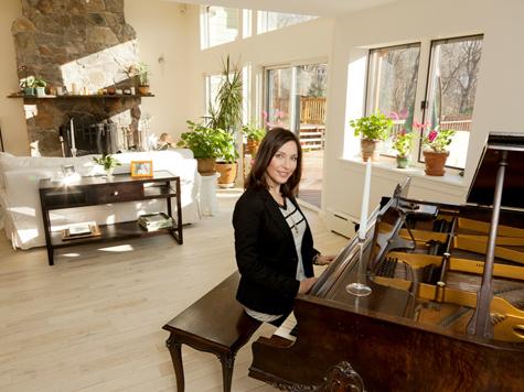 Полина Гриффис отремонтировала свой американский дом