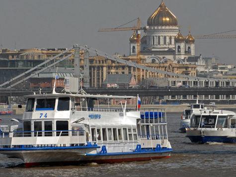 Рестораны уплывут с Москвы-реки
