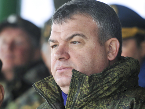 Сердюков попросил Медведева об увольнении
