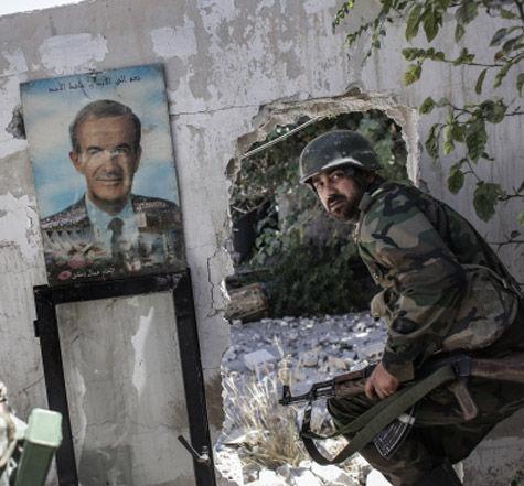 Сирийская революция несогласных