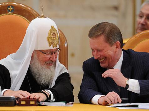 Патриарх встал на защиту истории