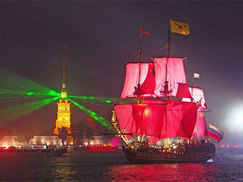 Петербургские выпускники увидели самый грандиозный фейерверк за всю историю праздника