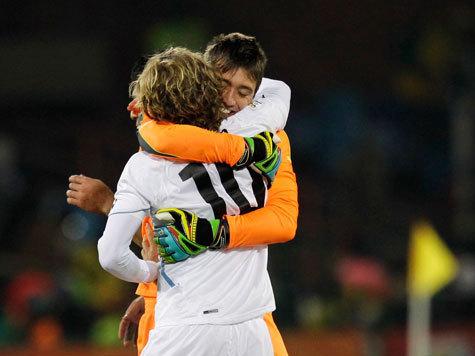 Сборная ЮАР в шаге от вылета из чемпионата мира