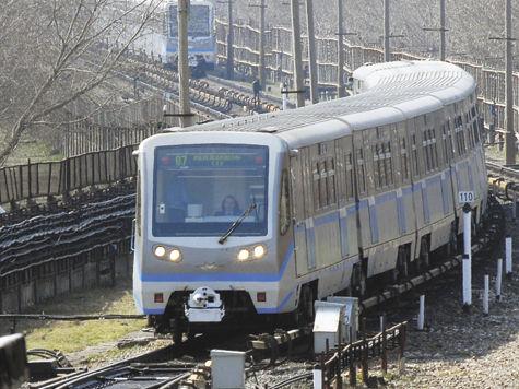 Первый участок наземного метро сдадут в ноябре