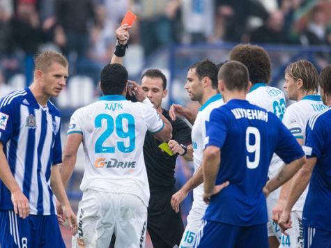 Судейскую бригаду матча «Волга» - «Зенит» попросили объясниться