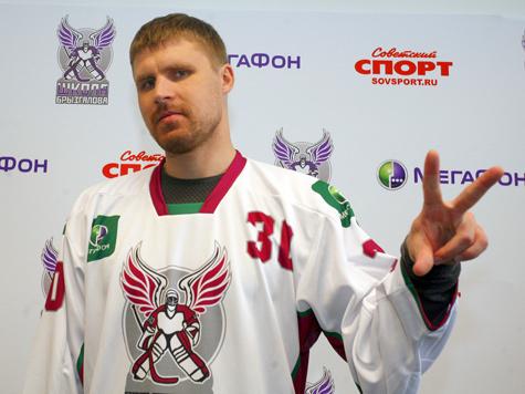 """Знаменитый хоккейный голкипер ответил на вопросы """"МК"""""""