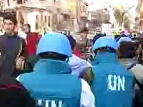 В Сирию поедут «голубые каски»