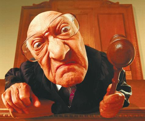 Суд в интерьере ГАИ