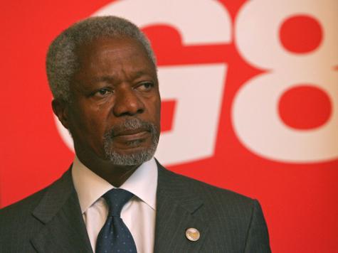 Аннан предотвратил бомбёжки Сирии