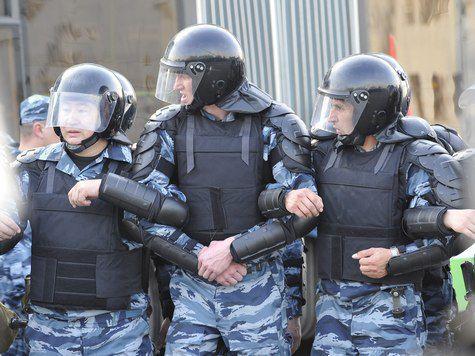 Столичная полиция готова к встрече с оппозицией