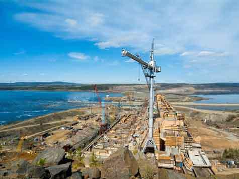 Созидатели ГЭС опасаются безработицы