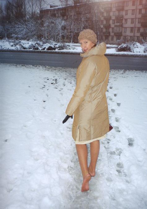 Женщина, которая боится каблуков