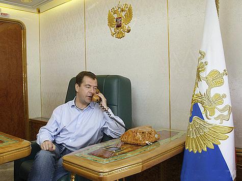 У Медведева новые крылья