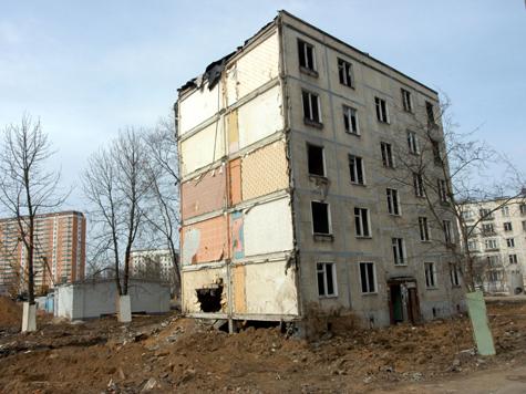 В Москве станет на 87 пятиэтажек меньше