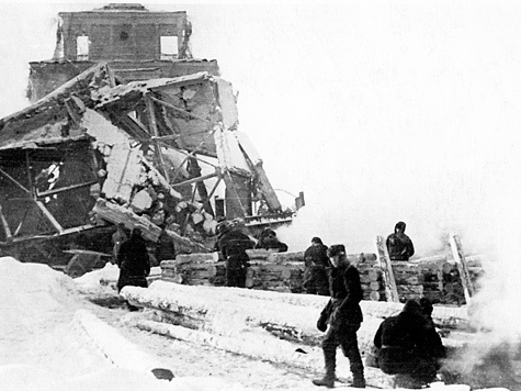 Зимой 1941 года в Подмосковье против немцев пустили гигантскую волну