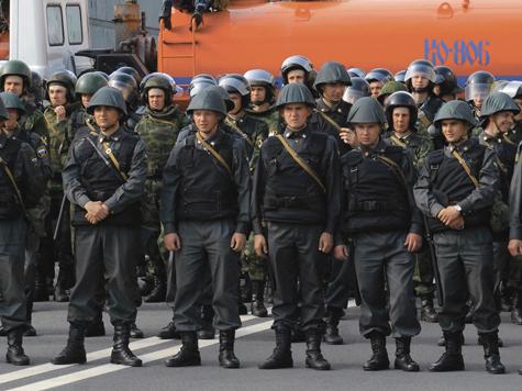 Полицейских нестрого наказали за Болотную