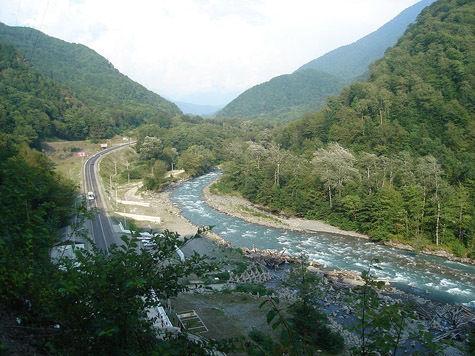 В олимпийском Сочи вздыбились реки