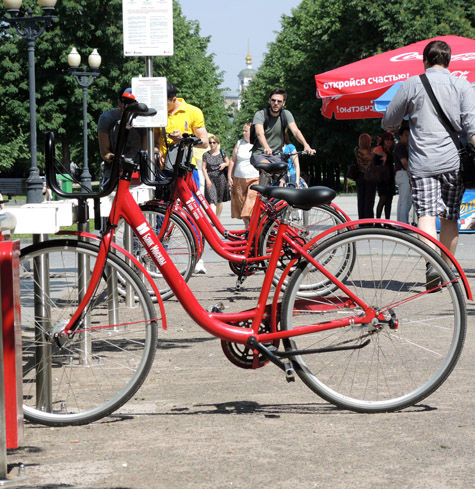 Москвичей объединило общее вело