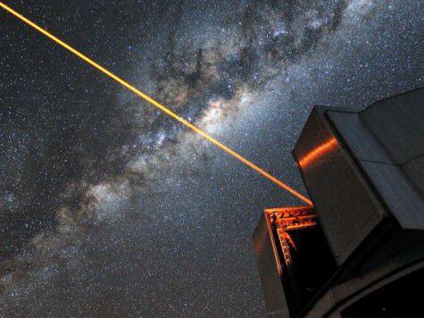 Внеземные цивилизации могут использовать «галактический интернет» на основе лазера