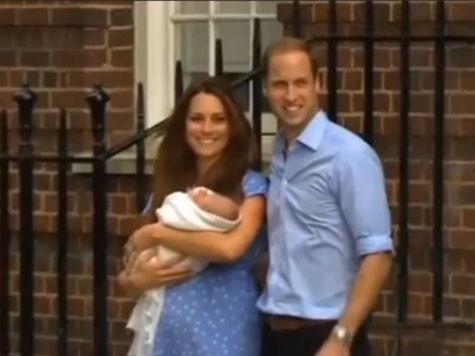 Крещение принца Джорджа пройдет торжественно, но скромно