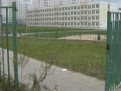 Малыш попал под школьные ворота в День учителя