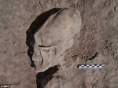 Кладбище инопланетян обнаружено в Мексике