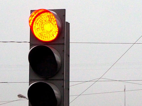 В Москве светофоры будут устанавливать за восемь дней