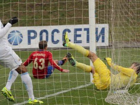 ЦСКА сыграл вничью с «Манчестер Сити»