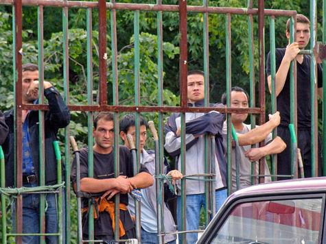 1675 мигрантов задержаны на Хорошёвском шоссе