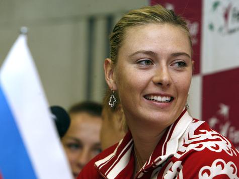 Шарапова рвется в Москву