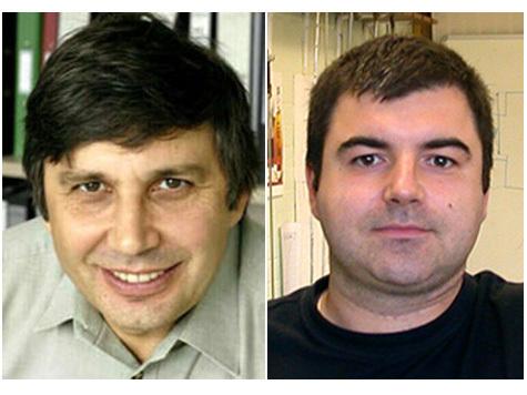 Константин Новоселов из Нижнего Тагила и Андрей Гейм из Сочи