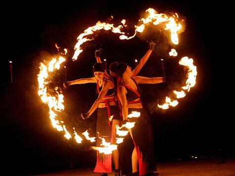 Великолепие огненного шоу