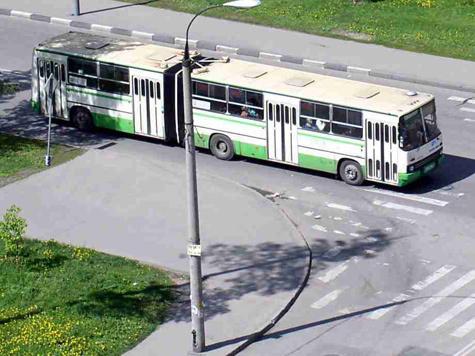 Исчезнувший автобус появился в новом месте